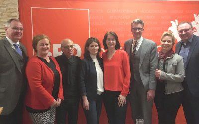 SPD Oberberg lud zum politischen Aschermittwoch mit Europapolitikerin Katarina Barley