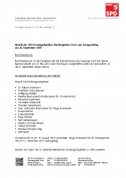 Bericht des Vorsitzenden der Kreistagsfraktion Ralf Wurth