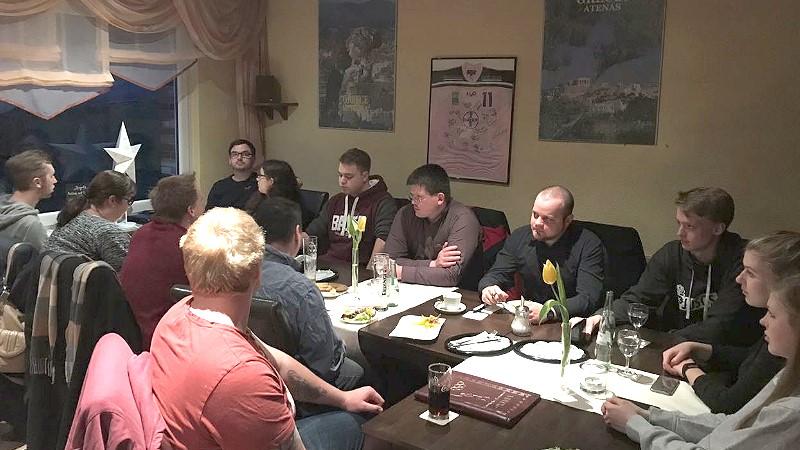 Erstes Treffen des neuen JUSO-Vorstandes in Wiehl