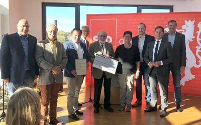 Ehrenpreis: SPD Lindlar zeichnet Verkehrs- und Verschönerungsverein aus