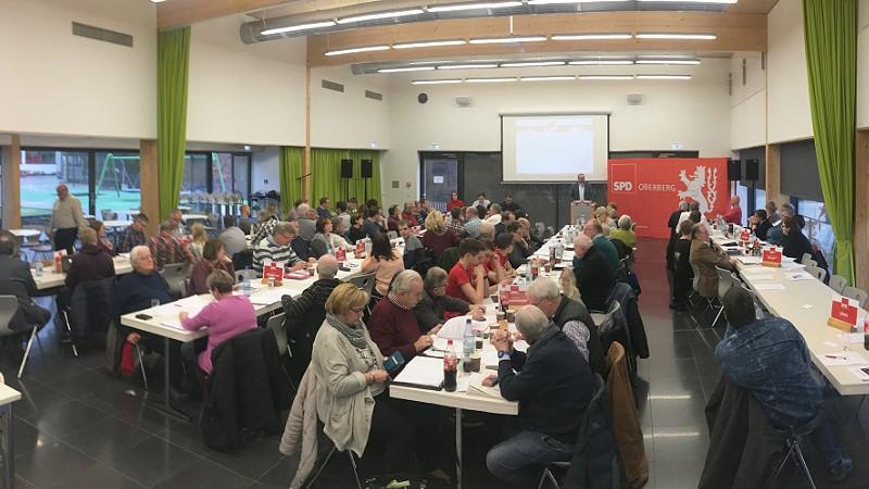 Kreisparteitag der SPD Oberberg im Lindenforum Gummersbach