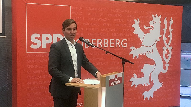 Sebastian Hartmann MdB, Landesvorsitzenden der NRWSPD