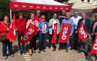 Wann wir schreiten Seit' an Seit': SPD Oberberg und Gewerkschaften feiern Tag der Arbeit
