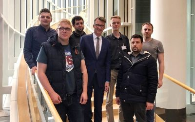 Jusos Oberberg nahmen Parlament und Landtagsabgeordnete unter die Lupe