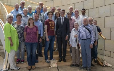 Besuchergruppe aus Gummersbach erlebte besondere Landtagsdebatte