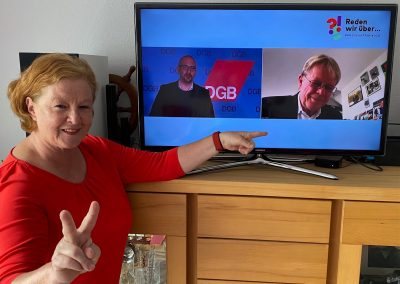 Oberbergische Sozialdemokrat*innen nehmen am 1. Mai des DGB teil