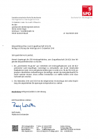 Eckpunktebeschluss zum Doppelhaushalt 2019/20