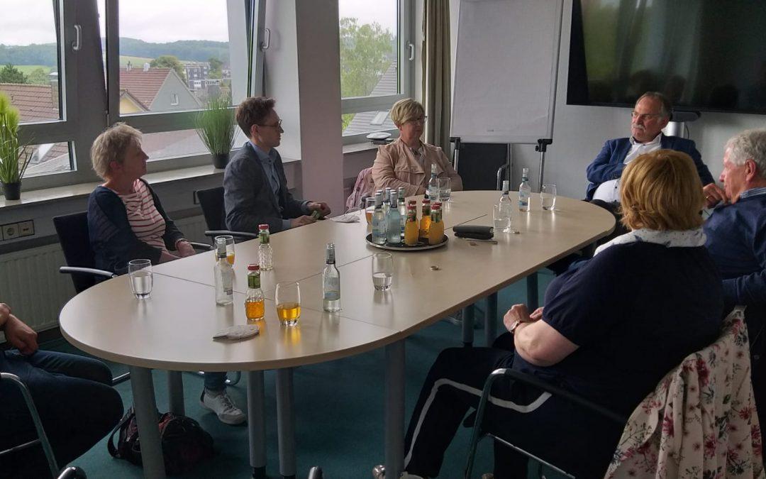 Fraktionsspitze der SPD-Kreistagsfraktion zu Besuch in Radevormwald