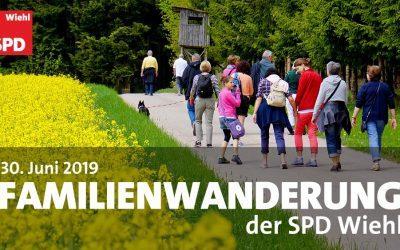 Familienwanderung mit der SPD Wiehl