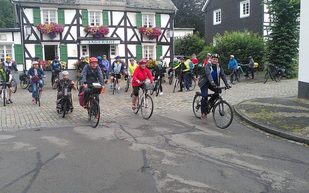 Von Bergneustadt nach Bonn: wieder tolle Radtour