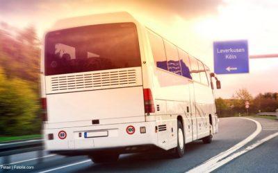 Mit dem Schnellbus Richtung Leverkusen und Köln