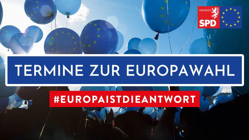 Termine zur Europawahl