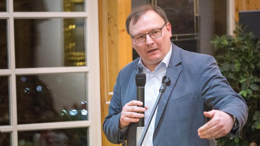 Thorsten Konzelmann, Vorsitzender des SPD Kreisverbandes im Oberbergischen Kreis (Bild: © Joachim Gies)