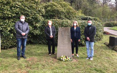 """Gedenken am 8. Mai: Vertreter:innen der SPD nahmen an Veranstaltung von """"Unser Oberberg ist bunt, nicht braun"""" teil"""
