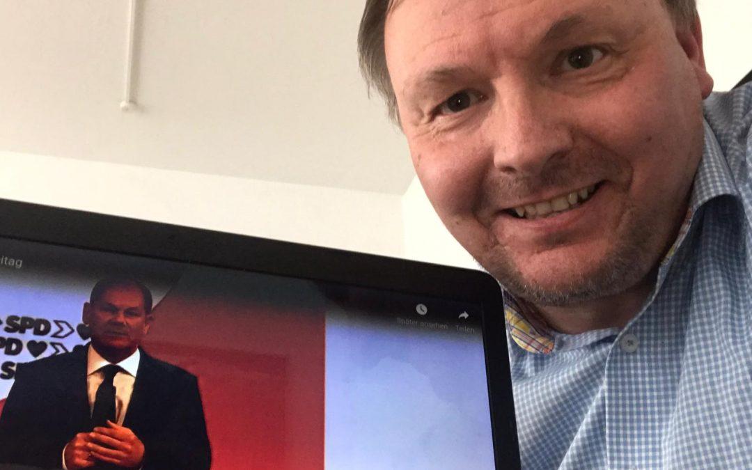 SPD startet mit Bundesparteitag in den Wahlkampf – Olaf Scholz mit 96,2 % zum Kanzlerkandidaten gekürt