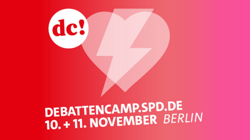Das war das Debattencamp in Berlin | Grafik: SPD.de