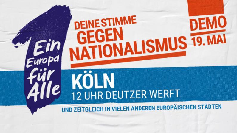 Die Oberbergische SPD ruft Ihre Mitglieder auf, an der Demonstration in Köln teilzunehmen.