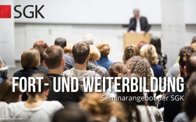 SGK-Seminarprogramm vor der Sommerpause