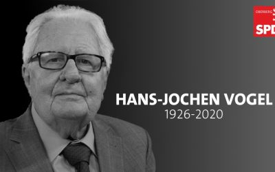 Wir trauern um Hans-Jochen Vogel