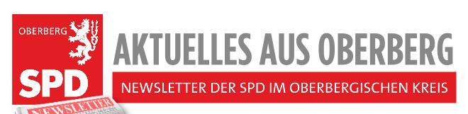 Newsletter der SPD im Oberbergischen Kreis