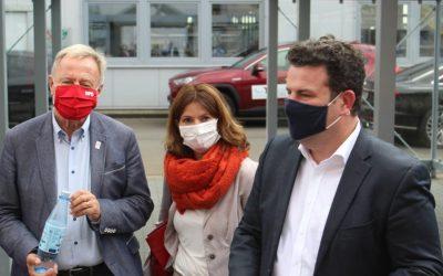 Bundesminister für Arbeit besucht Behinderten-Werkstätten Oberberg