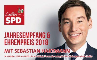 Jahresempfang der SPD Lindlar mit Sebastian Hartmann