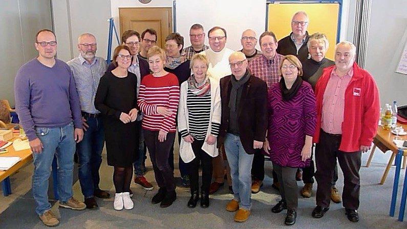 Teilnehmer aus der ganzen oberbergischen SPD bei der Klausurtagung in Lennestadt-Burbecke (Bild: © SPD Oberberg)