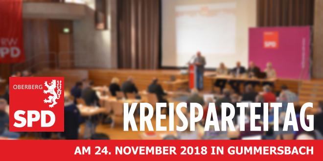 Kreisparteitag der SPD Oberberg