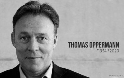 Trauer um Thomas Oppermann