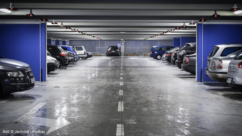 4,75 Millionen Euro für den Neubau einer Parkpalette am Berufskolleg Hepel? | Bild: © Jarmoluk - Pixabay