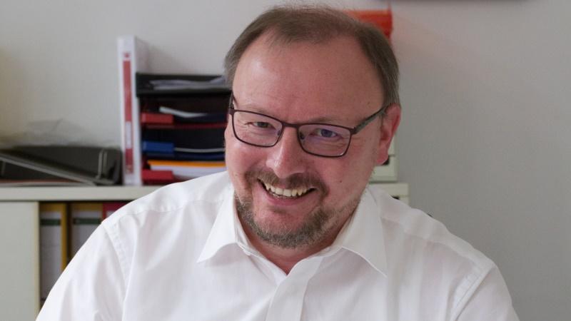 Thorsten Konzelmann, Vorsitzender des SPD Kreisverbandes im Oberbergischen Kreis