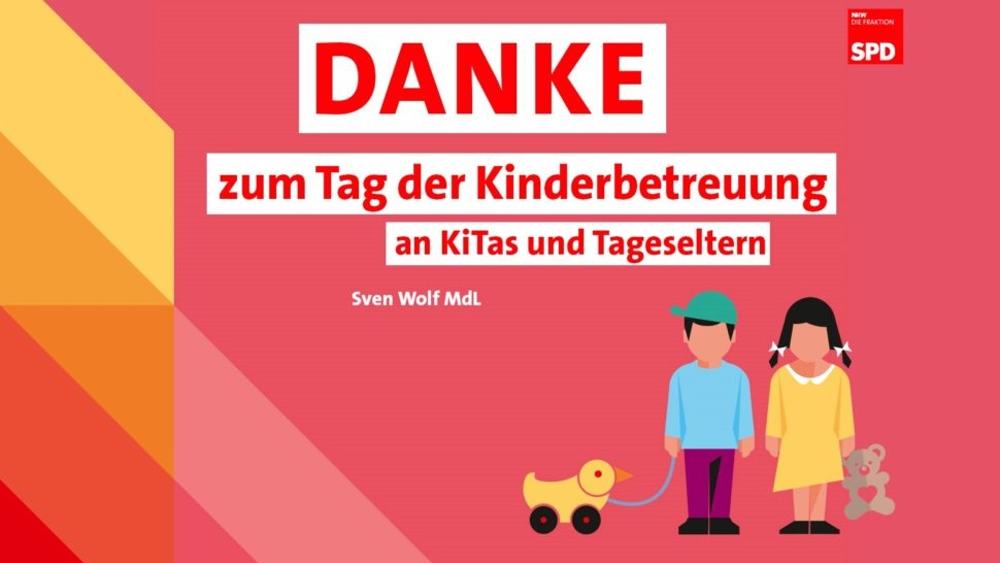 Tag der Kinderbetreuung: Danke für Ihre großartige Arbeit!
