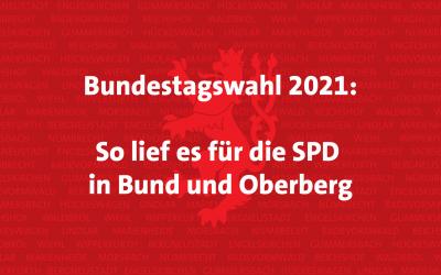 Bundestagswahl 2021: So lief es für die SPD in Bund und Oberberg!