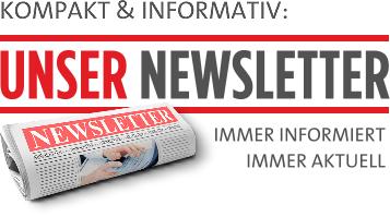 Kompakt & informativ: Unser Newsletter