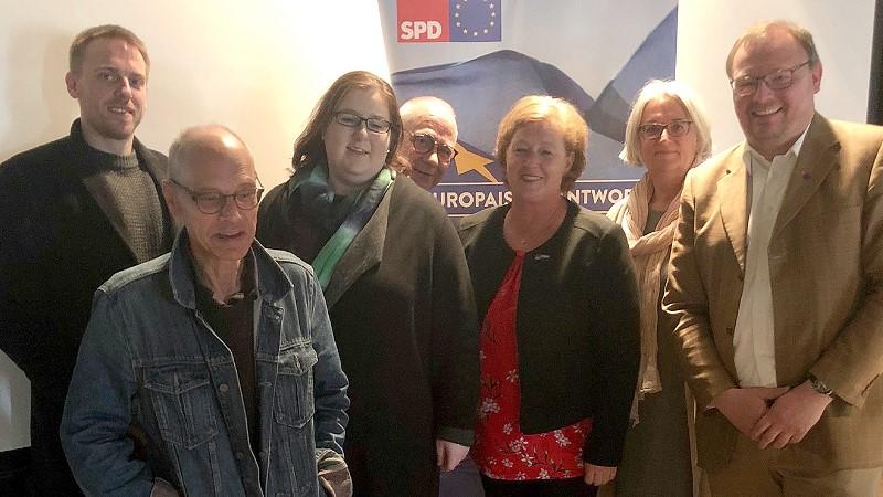Unsere Teilnehmer der SPD Oberberg an der Konferenz der SPD –Mittelrhein hat am 11. Mai 2019