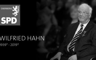 Trauer um Wilfried Hahn