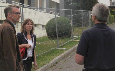 Wolf und Durdu: Respekt für die gute Arbeit der Feuerwehr